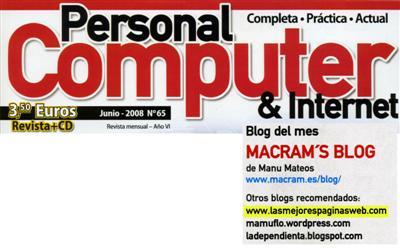 Personal Computer Junio 2008