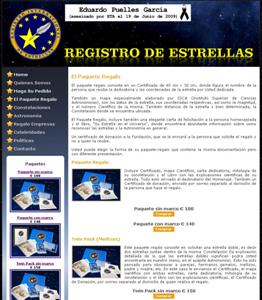 Registro de Estrellas