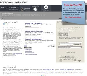 Convert Office 2007